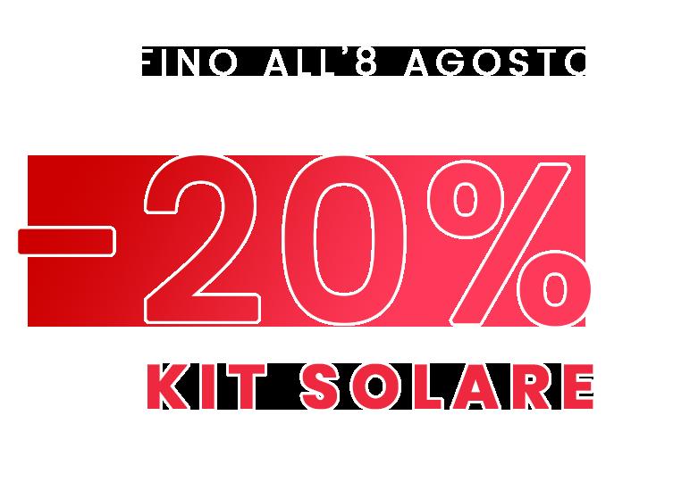 -20% KIT SOLARE